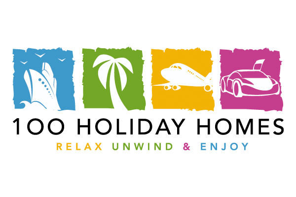 Logo design for 100 holiday homes