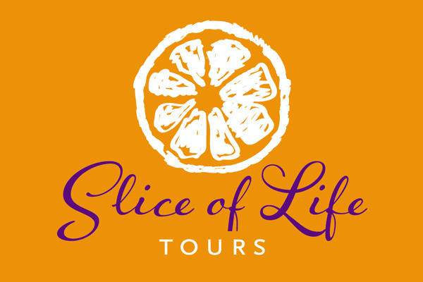Logo Design for Slice of Life Tours